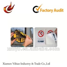 2012 self adhesive print sticker for windows