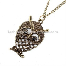 Korea fashion jewelry necklace-pierced fish patterns
