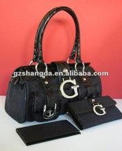 2011 Trendy Women's PU Handbag, clutch bag and wallets