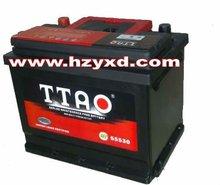 DIN55 MF Car Battery 12v 55AH