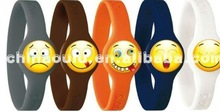Lovely Expressional Silicone wristband