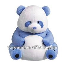 blue bear fat sitting panda