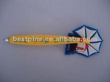 Custom pvc magnet pen for promotional