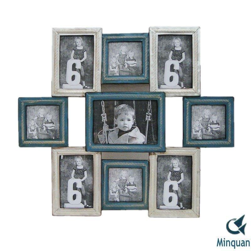 Multiple Frames On Wall