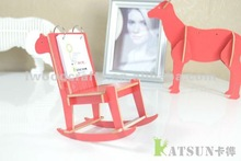 horse chair wooden creative calendar for promotion