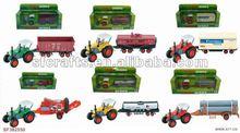 2012 new style free wheel die cast farm car toys