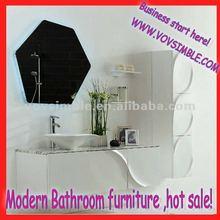 wholesale modern mdf bathroom furniture,vanity cabinet,SIMBLE 2012 NEWEST bathroom vanity design!
