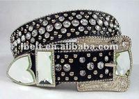 custom beaded western belts with rhinestone studded