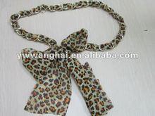 ladies fashion dressy silk chiffon fabric Belt