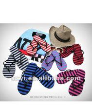 Newest indoor/outdoor eva& rubber slippers soles 2012