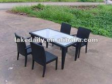 aluminum furniture rattan patio sofa RD-073