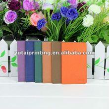 beautiful mini blank memory note book printing