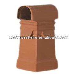 garden clay outdoor chiminea