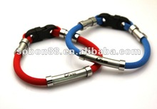 Perfect christmas negative ion band. silicone power bracelet