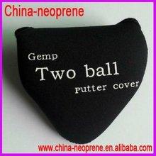 Neoprene Golf Ball Bag Two Balls