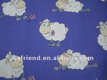 100% polyesters lovely sheep style micro polar fleece fabric with anti-pilling