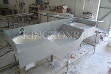 Artificial Stone wash basin toilet,bathroom vanities sinks for KFC