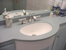 Artificial Stone solid surface wash basin toilet,bathroom vanities sinks for KFC
