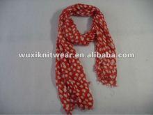 viscose print scarf shawl
