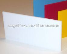 acrylic sheet opal white milky white