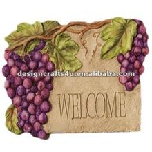 polyresin welcome garden board