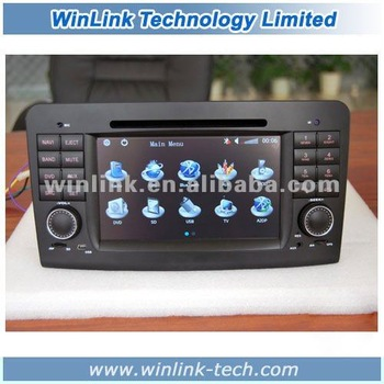 Special offer Touch screen 2 din 7 inch Car stereo gps for Benz W251 (R280 R320 R350 R500)