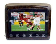 Touch Key Headrest DVD Player