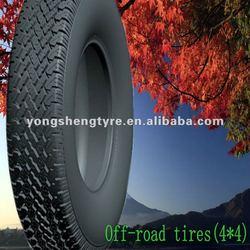 Off-road vehicle tires 225/75R16LT