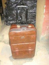 2012 3pcs Set italian leather luggage
