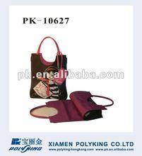 2012 most popular & fashion microfiber tote bag