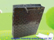 factory price gift wrapping bag made by holographic paper