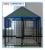 5' x 5' x 4' FT Welded Wire Mesh Dog Kennel/Cage/House with Waterproof Cover