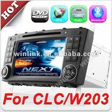 7'' 2 din HD Touch Screen dvd auto for Mercedes-Benz C-Class W203 CLC G-Class w467