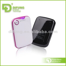 Magic Charging Intelligent Stop Lithium Battery Power Bank Difung 2012
