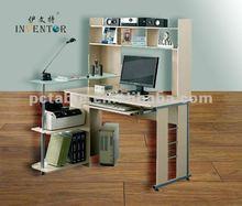 [HOT][office desk manufacturer]newest fashion design melamine board durable vertical office desk 351