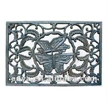 Butterfly Doormat, Cast Iron Door Mat, Garden Ornaments
