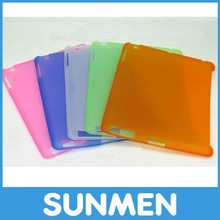 2012 transparent TPU case for ipad