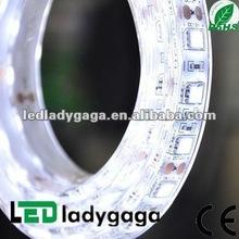 2012 Most bright 12v 5050 flexible led rope strip