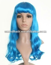 Long Layes Wavy mix Ladies Wigs Skin Top Cosplay Wig