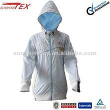 12F009 Fashion!!! Men white fashion casual jackets with hood