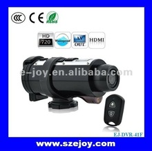 Hot Sell 720P Mini Sport Camera DVR For Bike, Support 32G SD Card EJ-DVR-41F