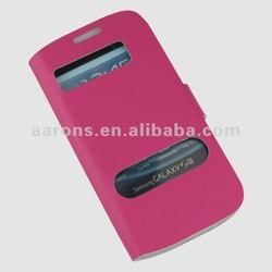 For Samsung Galaxy S3 Folio Leather Case