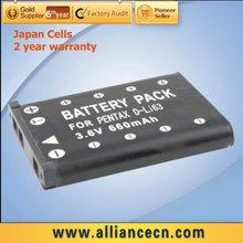 Rechargeable Li-ion Digital Camera Battery Pack for Pentax D-LI63