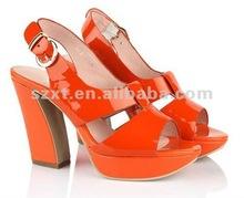 Fashion high platform thick high heel dress sandals shoes online XT-SF370