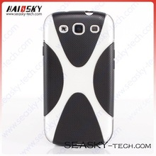 "Newest TPU Case with ""X"" shape for Samsung Galaxy S3 i9300"