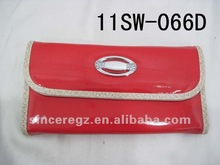 embroidered purse,pu leather wallet