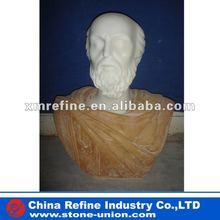 2012 bust man statue
