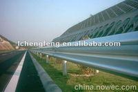 bridge guardrail beam