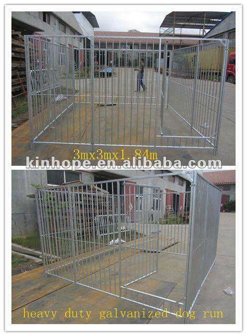 3m*3m*1.84m heavy duty galvanized dog run