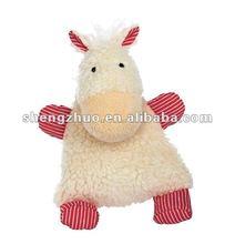 2012 cute stuffed baby pillow in animal shape